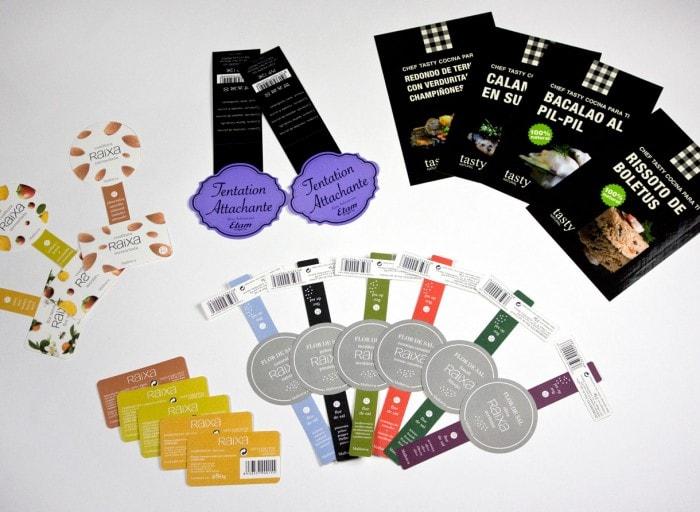 productos adhesivos tasty, raixa, etam