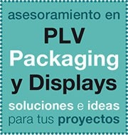 Plv, packaging y displays