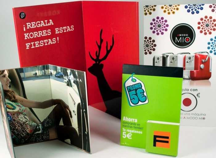 Impresion de peanas, displays, estuches y marketing directo en offset y digital